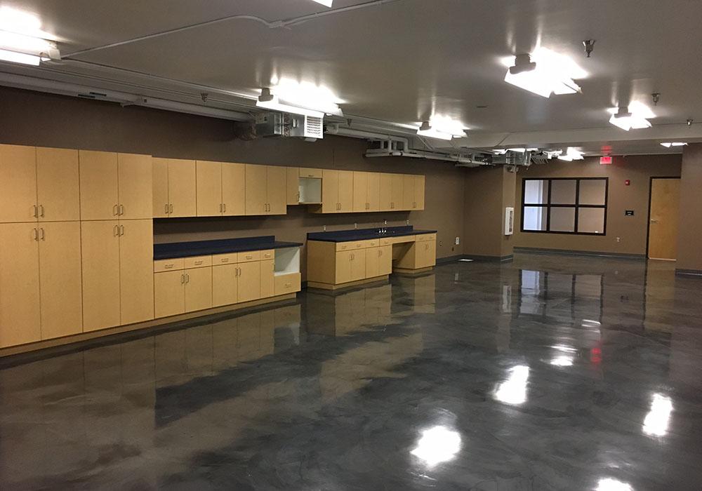 Maintenance Lounge and Nursing Room Improvements